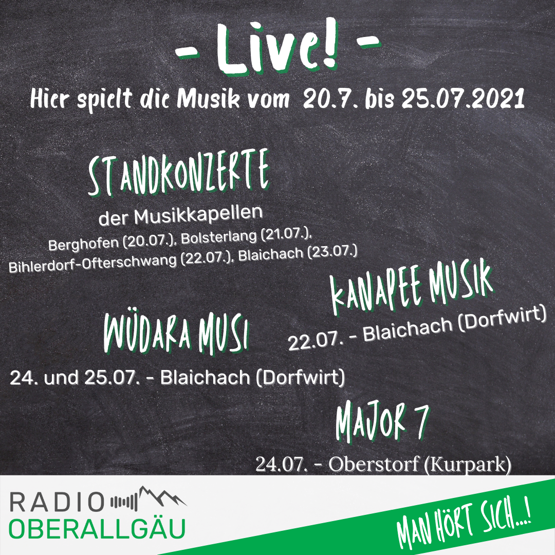 You are currently viewing Unsere Live-Musik Tipps